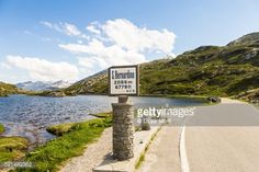 The San Bernardino pass in the alps mountain in Switzerland that... #izola: The San Bernardino pass in the alps mountain in… #izola