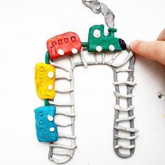 "«Буква ""П"" Поезд. ""П"" для конкурса#photo_azbukaс@photo_azbuka@sunday_woman@verase_vvv#photo_azbuka_Ванюши_и_Гриши Категория#photo_azbuka_каллиграфия…» Plasticine, Montessori Baby, Babies First Year, Kindergarten Reading, Reggio Emilia, Baby Games, Creative Art, Alphabet, Creations"