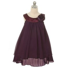 DARK PURPLE Flower Girl Dresses Recital Formal Birthday Party Wedding Graduation #PrivateLabel #ALineDress #GraduationFormalRecitalBirthdayEasterDanceBridesmaidChristmasDressyEverydayHolidayPageantPartyPromWeddingHomecomingCommunionBall