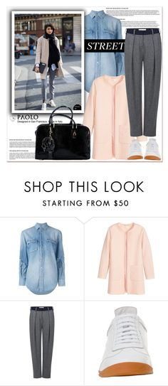 """Street style with PaoloShoes"" by spenderellastyle ❤ liked on Polyvore featuring Yves Saint Laurent, Jakke and Atea Oceanie"