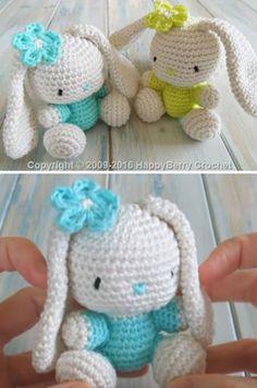 Crochet Bunnies Free Pattern
