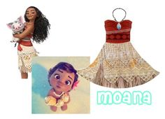 """Moana Style"" by sims2004 ❤ liked on Polyvore featuring Disney"
