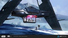 ArtStation - ILM Art Department Challenge - The Ride, Nicolas Gardeazabal