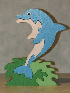 Wood Crafts, Diy And Crafts, Kids Jigsaw, Mermaid Beach, Scroll Saw Patterns, Puzzles For Kids, Wooden Puzzles, Wood Toys, Zoo Animals