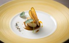 Zucchini and Scallop Star Food, Molecular Gastronomy, Culinary Arts, Food Plating, Food Presentation, Creative Food, Food Design, Food Art, Food Inspiration