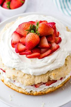 Strawberry Shortcake - an Easy Dessert recipe   Boulder Locavore® Easy Strawberry Shortcake, Fresh Strawberry Pie, Strawberry Filling, Strawberry Desserts, Chocolate Covered Strawberries, Strawberry Fields, Whipped Cream Icing, Sweet Whipped Cream, Impressive Desserts