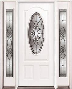 Entry Door Door With Two Sidelites Milliken Millwork