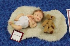 Ashton Drake Picture Perfect Mini Baby Tickles From Teddy Resin Doll