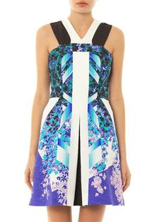 PETER PILOTTO Kristin textured print dress (171744)