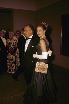 graceandfamily:  Prince Rainier and Princess Grace, Philadelphia, 1963