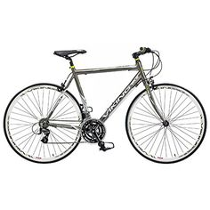 Viking Men's Trieste 700 C Flat Bar Road Bike - Grey, 59 cm  Price Β£399.99