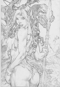 Ed Benes' SL Rogue by malon868.deviantart.com on @DeviantArt