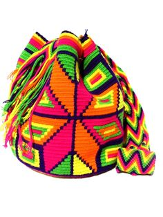 Wayuu mochila shoulder bag Joyce flower