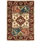 Heritage Multi/Red 2 ft. x 3 ft. Area Rug
