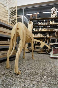 Dog 106  / CNC cut & fabrication - Sunghyun An