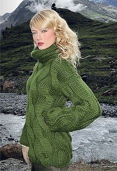 Classic Cables pattern by Verena Design Team #knit