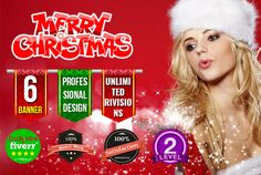 design Attractive Christmas banner by noman0007