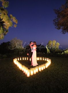 lights of heart wedding-pictures