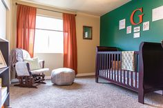 Brave Little Man Nursery via Lady and Her Gents