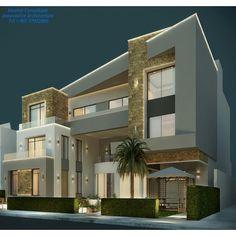 61 meilleures images du tableau façade villa | Modern homes, Modern ...