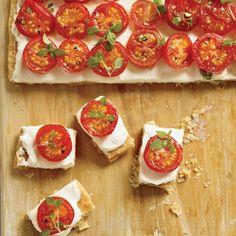 Tomato Tartlets // More Delicious Tomato Recipes: http://www.foodandwine.com/slideshows/tomatoes #foodandwine