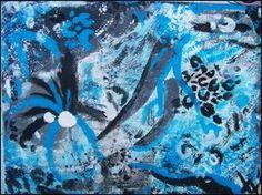 Nadii B. Xx' - ''Mein Traum'' März/'11 - mit Acryl auf Leinwand von 18 x 24 cm. 30 €.