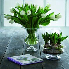 Nyd dine blomsterbuketter i de smukkeste vaser - køb firmajulegaver online