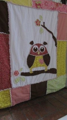 Baby Toddler Rag Quilt by Snipitup on Etsy, $70.00