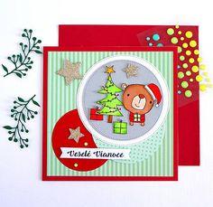 cardmaking / Pohľadnica Veselé Vianoce