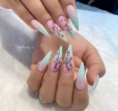 Cute Acrylic Nail Designs, Best Acrylic Nails, Stylish Nails, Trendy Nails, Diy Ongles, Luxury Nails, Dope Nails, Nagel Gel, Gorgeous Nails
