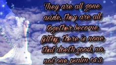 Psalm 14:3 . for God in His grace has offered a way - YouTube Bible Verse For Today, Bible Verses, Psalm 14, Prayers, Channel, God, Heart, Youtube, Dios