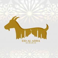 Eid al adha islamic festival wishes back... | Free Vector #Freepik #freevector #background #islamic #ramadan #celebration Eid Adha Mubarak, Eid Mubarak Vector, Wallpaper Ramadhan, Eid Card Designs, Eid Pics, Eid Al Adha Greetings, Happy Islamic New Year, Happy Eid Al Adha, Goat Logo