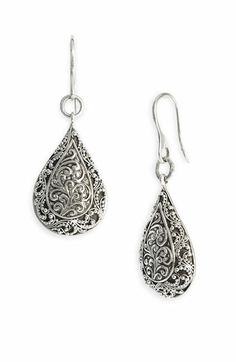 Lois Hill 'Repousse' Drop Earrings available at #Nordstrom, $178