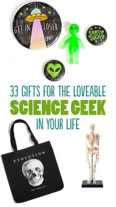 33 Gifts For The Loveable Science Geek In Your Life