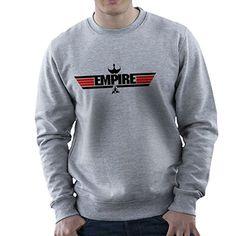 Empire Top Gun Logo IKS Korga Star Trek Klingon Men's Sweatshirt * Click image to review more details.