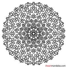 Gallery.ru / Фото #182 - MANDALAS - griega Simple Mandala, Geometric Mandala, Mandala Pattern, Coloring Pages, Printables, Mandala Coloring, Zentangles, Printable Coloring, Art Therapy