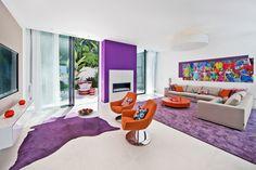 Funky #livingroom in modern villa in #Port d'Andratx, #Mallorca #engelvoelkers
