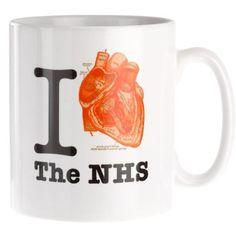 I Heart The NHS Mug from Present Indicative