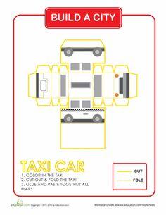 Worksheets: Build a City: Taxi Cab