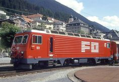 HGe 4/4 II 101 (Foto: Manfred Möldner) Bbc, Trucks, Train, Swiss Railways, Vehicles, Google, Photos, Locomotive, Rolling Stock