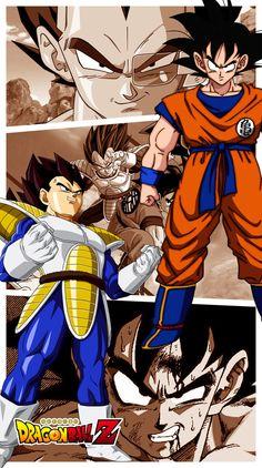 Goku Bezita Saiyan Saga by JemmyPranata on DeviantArt Dragon Ball Z, Dragon Ball Image, Manga Dragon, Z Wallpaper, Kid Goku, Saga, Goku Vs, Pokemon Comics, Beautiful Dragon