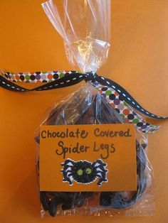 Chocolate Covered Spider Legs