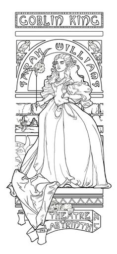Theatre De La Labyrinth Coloring Page By Khallion DeviantART