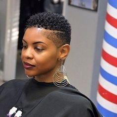 Cute Short Haircuts for Black Females, Hair Natural Short Scott Cute Short Haircuts for Short Natural Styles, Natural Hair Short Cuts, Short Natural Haircuts, Cute Short Haircuts, Short Hair Cuts, Short Styles, Natural Big Chop, Big Chop Styles, Twa Haircuts