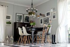 Dom w lesie - Salon, styl skandynawski - zdjęcie od SHOKO.design