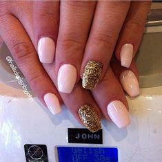 short+ballerina+nails | coffin nail shape