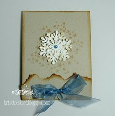 Tutorial ~ Inkido Quick Christmas Cards