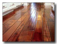How to Polish Hardwood Floors