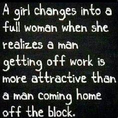 A FULL GROWN WOMAN