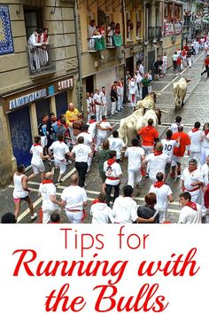 Are you thinking of running with the bulls during Sanfermin this year or thinking about running next year? Here are my top 9 do's and 3 don'ts to make sure you have the best experience during the fiesta! | #SanFermin #Pamplona #Spain #Europe #TravelTips |
